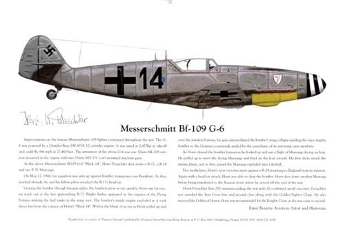 27 Bf109 Horst 1999