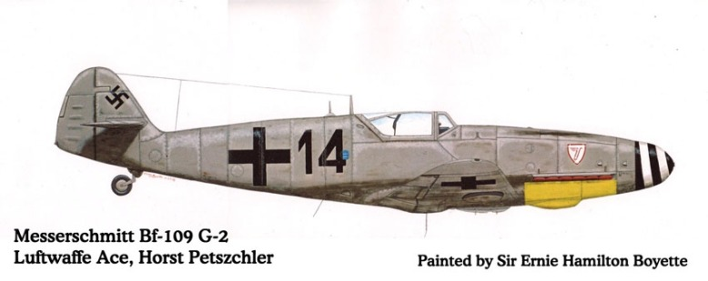 painting_Bf-109G2_Horst_1