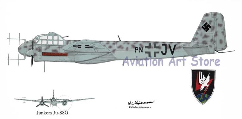 painting_Ju-88G
