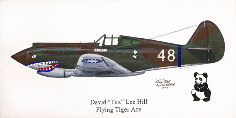 painting_P-40_AVG_Hill