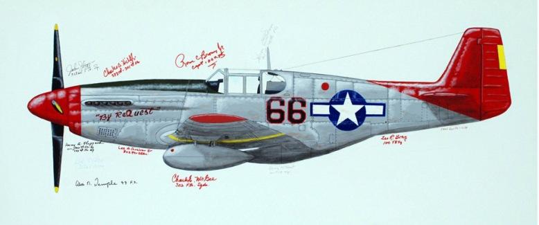 painting_P-51C_Davis_1