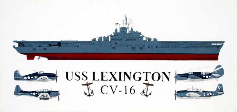 Painting_zZ_USS_Lex